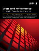 Stress and Performance in Health Care Project Teams