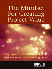Mindset for Creating Project Value