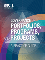 Governance of Portfolios, Programs, and Projects