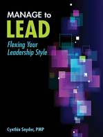 Manage to Lead