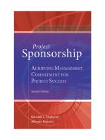 Project Sponsorship