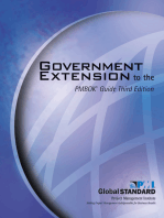 Government Extension to the PMBOK® Guide Third Edition