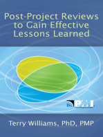 Post-Project Reviews to Gain Effective Lessons Learned