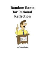 Random Rants for Rational Reflection