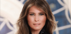 First Lady Melania Trump Gets Her First Official Portrait