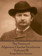 The Poetry of Algernon Charles Swinburne - Volume III