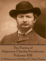 The Poetry of Algernon Charles Swinburne - Volume XIII
