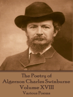 The Poetry of Algernon Charles Swinburne - Volume XVIII