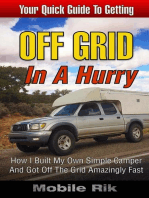 Off Grid In A Hurry