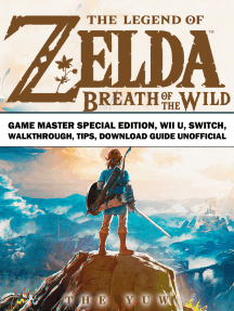 The Legend of Zelda Breath of the Wild Game Master Special Edition, Wii U, Switch, Walkthrough, Tips, Download Guide Unofficial: Beat your Opponents & the Game!