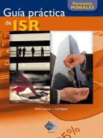 Guía práctica de ISR. Personas morales 2017