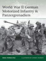 World War II German Motorized Infantry & Panzergrenadiers