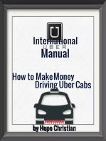 International Uber Manual, How to Make Money Driving Uber Cabs