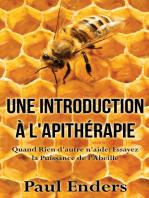Une introduction à l'apithérapie