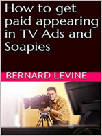 How to Get Paid Appearing in TV Ads and Soapies