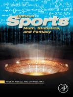 Optimal Sports Math, Statistics, and Fantasy