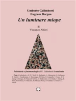 Umberto Galimberti Eugenio Borgna Un luminare miope