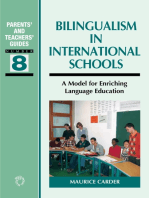 Bilingualism in International Schools: A Model for Enriching Language Education