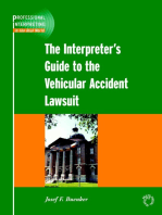 The Interpreter's Guide to the Vehicular Accident Lawsuit