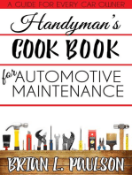 Handyman's Cook Book to Automotive Maintenance