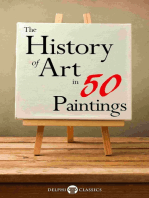 The History of Art in 50 Paintings (Illustrated)