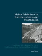 Meine Erlebnisse im Konzentrationslager Mauthausen