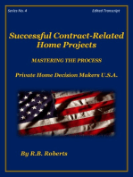 Successful Contract-Related Home Projects - Master The Process - Series No. 4 [PHDMUSA]