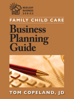 Family Child Care Business Planning Guide