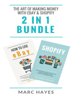 The Art of Making Money with eBay & Shopify (2 in 1 Bundle)
