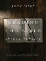 Reading the Bible Supernaturally