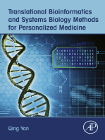 Translational Bioinformatics and Systems Biology Methods for Personalized Medicine