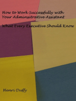 How to Work Successfully with Your Administrative Assistant