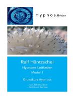 Hypnose Leitfaden Modul 1