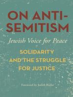 On Antisemitism