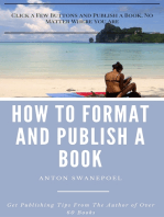 How To Format and Publish a Book