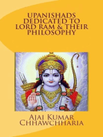Upanishads Dedicated to Lord Ram & Their Philosophy