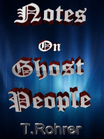 Notes on Ghost People