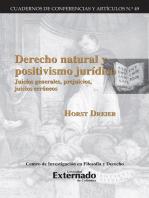 Derecho natural y positivismo juridico