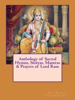 Anthology of Sacred Hymns, Stotras, Mantras & Prayers of Lord Ram