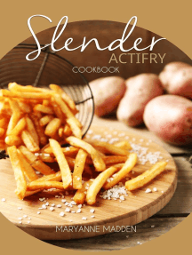 Slender Actifry Cookbook: Slender Cookbooks