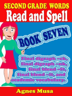 Second Grade Words Read And Spell Book Seven