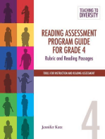 Reading Assessment Program Guide For Grade 4