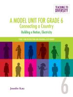 A Model Unit For Grade 6