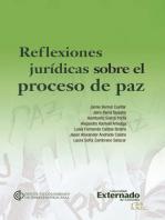 Reflexiones jurídicas sobre el proceso de paz