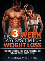 The 3 Week Easy System for Weight Loss