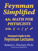 Feynman Lectures Simplified 4A: Math for Physicists