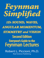 Feynman Lectures Simplified 1D: Angular Momentum, Sound, Waves, Symmetry & Vision