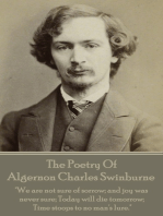 The Poetry Of Algernon Charles Swinburne