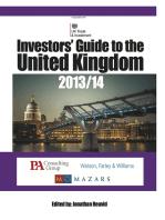 Investors' Guide to the United Kingdom 2013/14