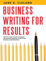 Business Writing for Results